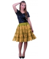 Petticoats 5 laags goud