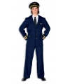 Piloot kostuum heren 56 (2XL) Multi