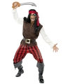 Verkleedkleding piratenpak heren