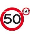 50 jaar tafel decoratie artikelen