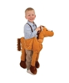 Pluche paarden kostuum voor kids One size Bruin