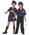 Politie kostuum meisjes 128 Multi