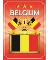 Deur poster thema Belgie
