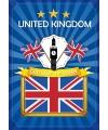 Deur poster thema United Kingdom