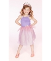 Prinsessen jurkje Kelly lila 5-7 jaar (110-116) Lila