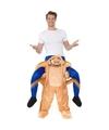 Ride on kostuum kakkerlak voor volwassenen One size Multi