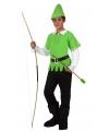 Robin Hood kostuum voor kinderen 140 (10-12 jaar) Multi