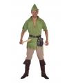 Robin Hood pak voor heren 64-66 (2XL) Multi