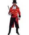 Rode baron verkleed jas voor heren 48-50 (S) Multi