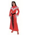 Rode jurk voor dames 38 (M) Rood