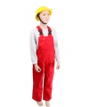 Rode kinder tuinbroek 164 Rood