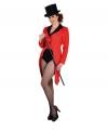 Rode slipjas voor dames XL (48-50) Rood