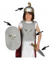 Romeinse krijger pak voor kinderen One size Multi