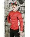 Rood bodybuilder kostuum One size Rood