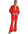 Rood colbert en broek voor heren 56-58 (L) Rood