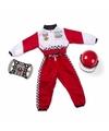 Rood Formule 1 verkleedset voor kids One size Multi
