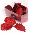Rode hulstblaadjes 24 stuks