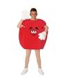 Rood snoep kostuum volwassenen S Rood