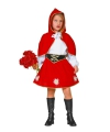 Roodkapje jurkje voor meiden 116 Rood