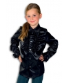 Zwarte hippie blouse voor jongens