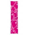 Ballonnen banner roze kleur