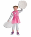 Roze cheerleaders jurkje voor meisjes