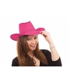 Roze cowboy hoeden