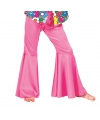 Roze hippie broek voor kinderen