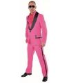 Roze kostuum voor heren 58 (2XL) Roze