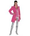 Roze markiezin voor dames 40 (L) Roze