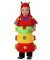 Rupsen kostuum voor peuters One size Multi