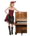 Saloon girl western / country kostuum dames 36/38 (S/M) Multi