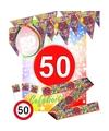 50 jaar Sarah feestpakket met versiering
