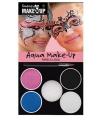 Make up setje prinses 5 kleuren