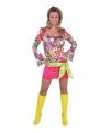 Dames hippie seventies jurkje