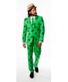 Sint patricksday kleding/ kostuum heren 48 (M) Groen