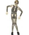Skelet second skin pak voor kinderen 130-143 (7-9 jaar) Multi