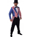 Slipjassen Amerika Stars and Stripes voor heren