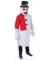 Sneeuwpop verkleedkleding voor volwassenen One size Wit