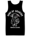 Merchandise Sons Of Anarchy tanktop heren zwart