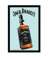 Decoratie spiegel Jack Daniels fles