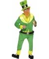St. Patricks day dwerg kostuum One size Groen
