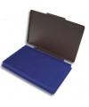 Stempel kussentje blauw 7 x 11 cm