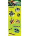 Kinder stickers Teenage Ninja Turtles