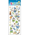 Kinder Tovenaars/heksen stickers