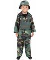 Leger kleding soldatenpak kind