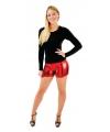Sexy rode shorts voor dames