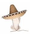 Naturel Mexicaanse sombrero 40 cm
