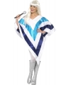 ABBA poncho voor dames