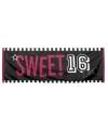 Sweet 16 spandoek 74 x 220 cm